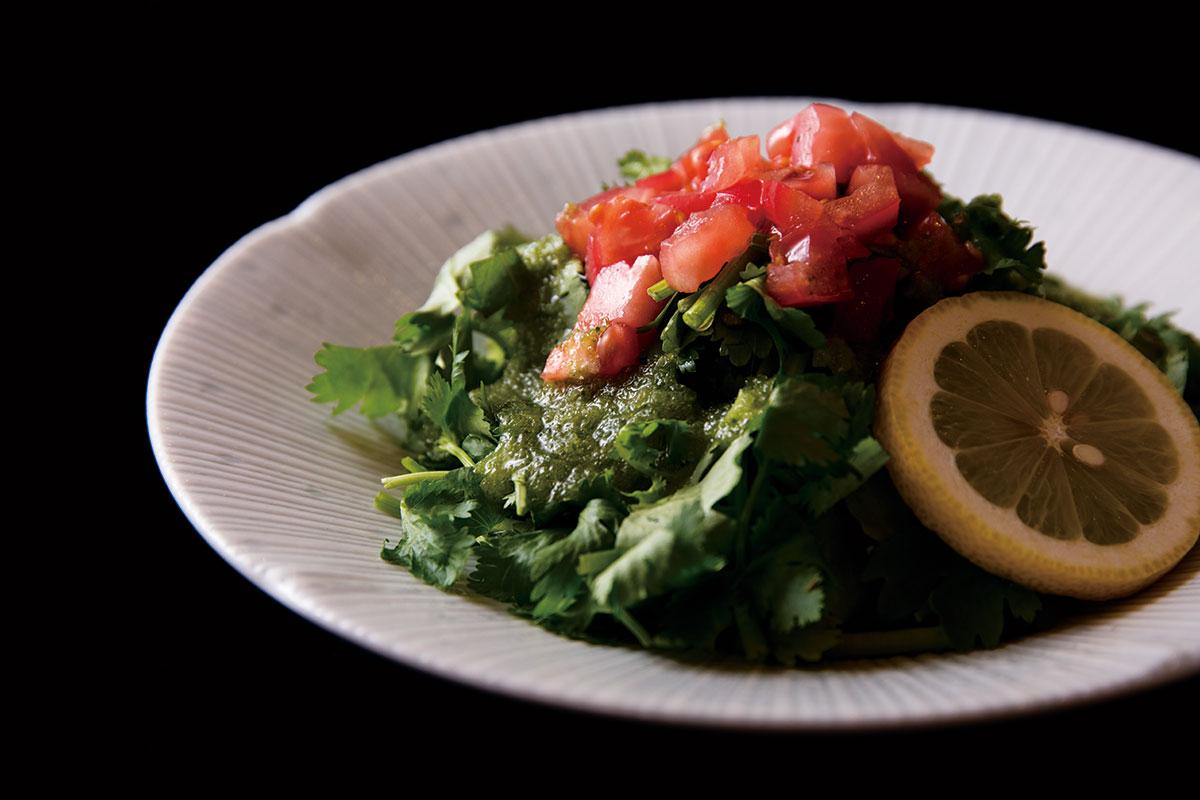 香菜サラダ